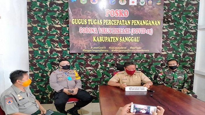 BREAKING NEWS - Bupati Sanggau Ucap Syukur Seorang Warganya Dinyatakan Sembuh dari Covid-19