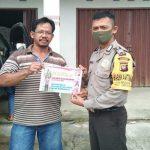 Bripka Mangun Suwarno Imbau Warga Desa Pengadang Sanggau Jangan Mudik
