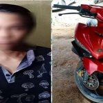 Gelapkan Sepeda Motor, Seorang Pemuda Ditangkap Polsek Sanggau Ledo di Landak