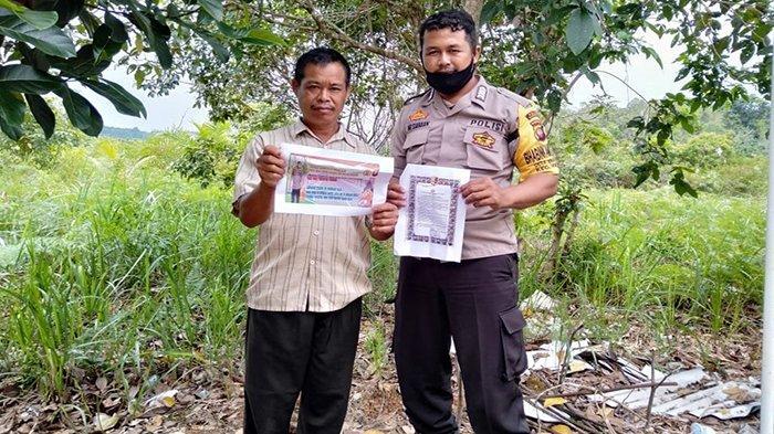 Patroli Dialogis, Bhabinkamtibmas Desa Engkode Sanggau Sosialisasikan Maklumat Kapolri