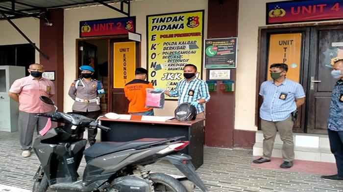 Curi Motor di Parkiran RSUD M Th Djaman Sanggau, RD Diringkus Polisi