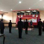 Paolus Hadi Lantik Tujuh Pejabat Administrator dan Pengawas di Lingkungan Pemkab Sanggau