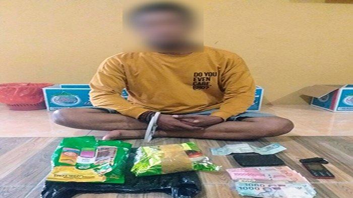 Pria Tertangkap Bawa Sabu di Kawasan Perbatasan Sanggau Ternyata Napi Baru Bebas Program Asimilasi