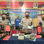 Polsek Entikong Amankan Komplotan Spesialis Pencurian