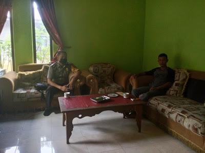 Bhabinkamtibmas Laksanakan DDS Serta Himbau Jaga Kamtibmas