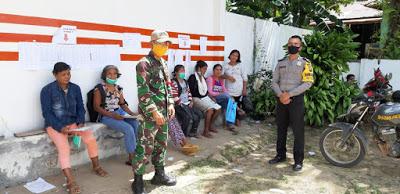 Penyaluran Bantuan Sosial Tunai (BST) Tahap II kepada Keluarga Penerima Manfaat di Kecamatan Bonti Kabupaten Sanggau