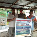 Bripka Mangun Suwarno Himbau Stop Karhutla Menggunakan Sepanduk