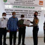 Penyaluran Bantuan Langsung Tunai Dana Desa ( BLT DD) di Desa Upe untuk Tahap II Tahun 2020