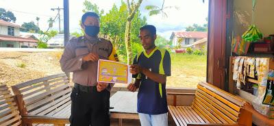 Brigpol Novi Iswandi Himbau Warga Mengenai New Normal