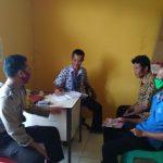 Bripka Sapto Sambangi Desa Binaan dan Sampaikan Wajib Gunakan Masker