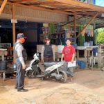 Pelaksanaan kegiatan Patroli Dialogis dan Patroli Objek Vital Piket Siang Polsek Toba