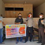 Pelaksanaan Kegiatan Himbauan Saber Pungli di Wilayah Hukum Polsek Toba