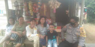Bripka Ishaq Himbau Warga Desa Binaan Selalu Jaga Situasi Kamtibmas