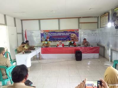 Launching Pelayanan Vaksinasi Rabies Sekabupaten Sanggau dalam mendukung Program Saber 24 menuju Sanggau bebas Rabies Tahun 2024
