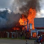 Bangunan Bekas Somil di Balai Karangan Terbakar