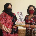 Tampilkan Batik Sabang Merah, Dekranasda Kabupaten Sanggau Raih Juara Satu Lomba Desain Busana Muslim Tingkat Provinsi Kalbar