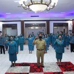Bupati Sanggau Lantik Pengurus TP-PKK Kabupaten Sanggau Masa Bhakti 2020 – 2025