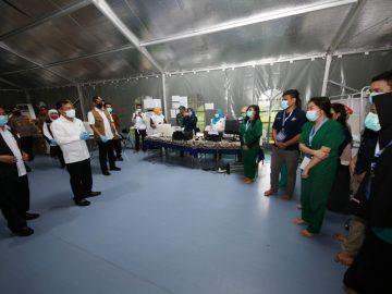 Doni Monardo Resmikan RS Lapangan Pemprov Jatim - Berita Terkini