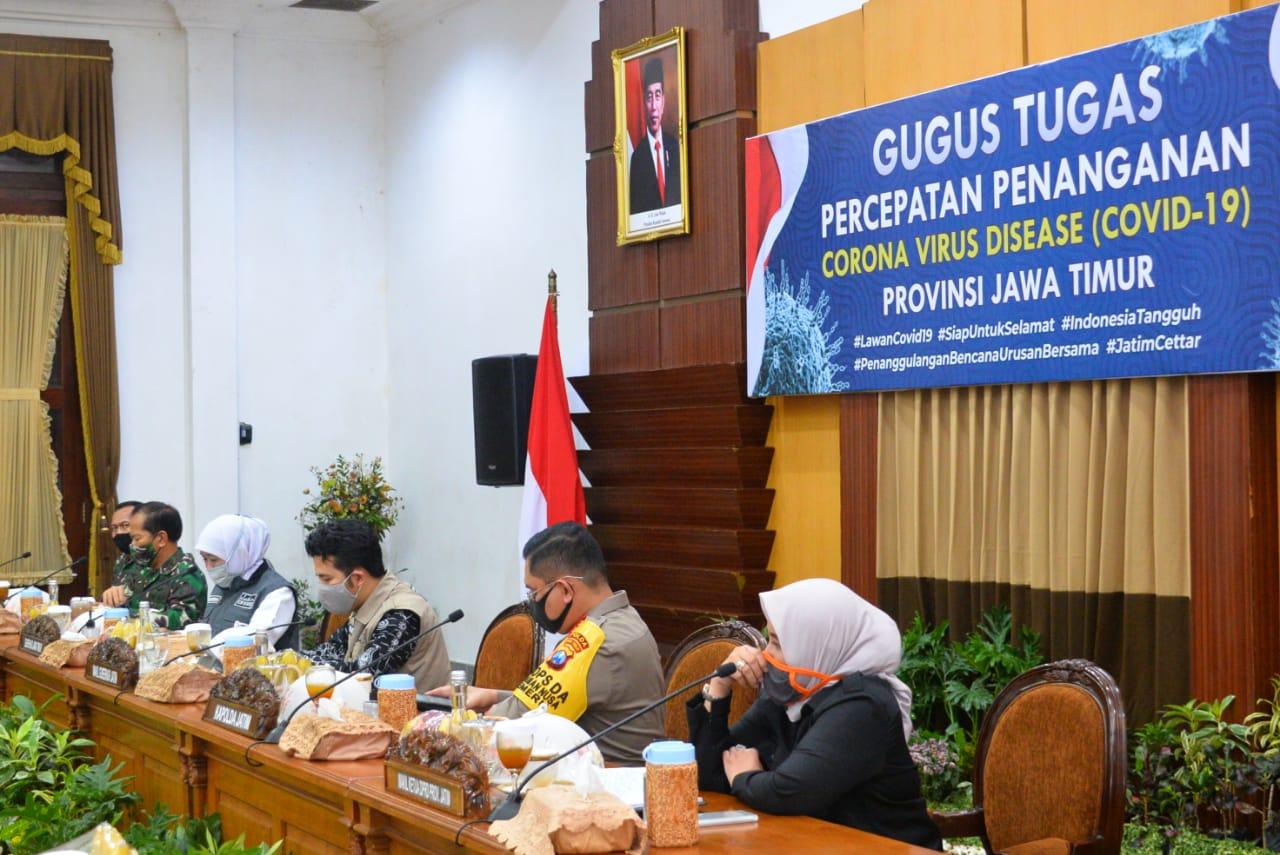 Forkopimda Jatim Sepakati Permintaan Tiga Kepala Daerah Surabaya Raya untuk Akhiri PSBB dan Masuki Transisi Menuju New Normal Life - Berita Terkini