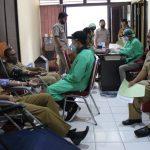 Gerakan Kemanusian, Dinas Kominfo Sanggau Gelar Aksi Donor Darah