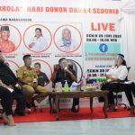 Peringati Hari Donor Darah Sedunia, PMI Sanggau Gelar Talkshow Bersama Bupati Sanggau