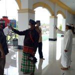 Sholat Jumat di Masjid Agung Sanggau Terapkan Protokol Kesehatan Ketat, Berjalan Penuh Khikmad