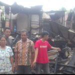 Sebuah Rumah di Engkasan, Tayan Hulu Ludes Terbakar
