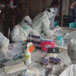 Begini Hasil Rapid Test Pedagang Pasar Sentral Sanggau