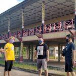 Sekjen DAD Sanggau Tinjau Rumah Betang Dori'k Mpulor