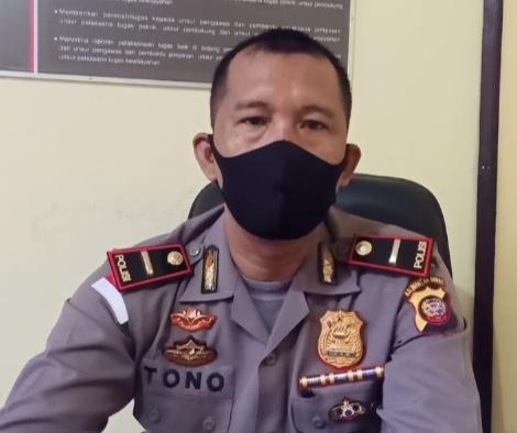 Ipda Sutono Imbau Warga Kecamatan Kembayan Jangan Panik, Tetap Patuhi Protokol Kesehatan
