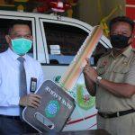 Bank Kalbar Serahkan 1 Unit Ambulan untuk PMI Sanggau