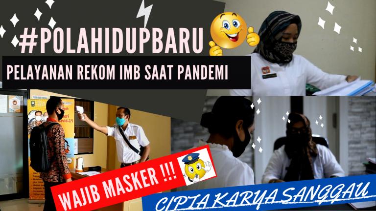 Partisipasi Dinas PCKTRP Kabupaten Sanggau dalam Lomba Vlog (Video Blog) Pola Hidup Baru di masa Pandemi