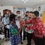 Penyaluran BLT DD Desa Binjai Kec. Tayan Hulu Tahun 2020