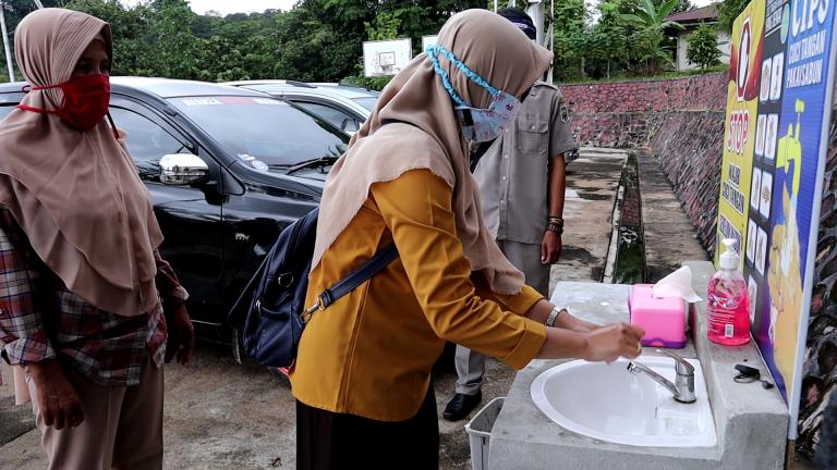 Pola Hidup Baru Dinas Pendidkan dan Kebudayaan Kab.Sanggau
