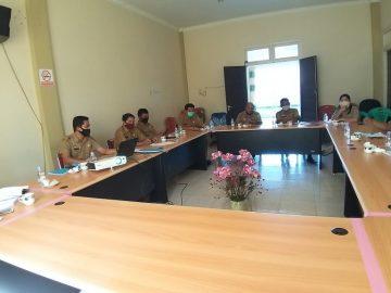Rapat Tindak Lanjut Pemekaran Desa di Kabupaten Sanggau Tahun 2020