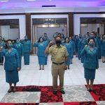 Bupati Paolus Hadi Lantik Pengurus TP PKK Kabupaten Sanggau Masa Bakti 2020-2025