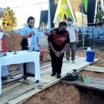 Bupati dan Wabup Sanggau Hadiri Pemberkatan dan Peletakan Batu Pertama Pembangunan Wisma Keuskupan