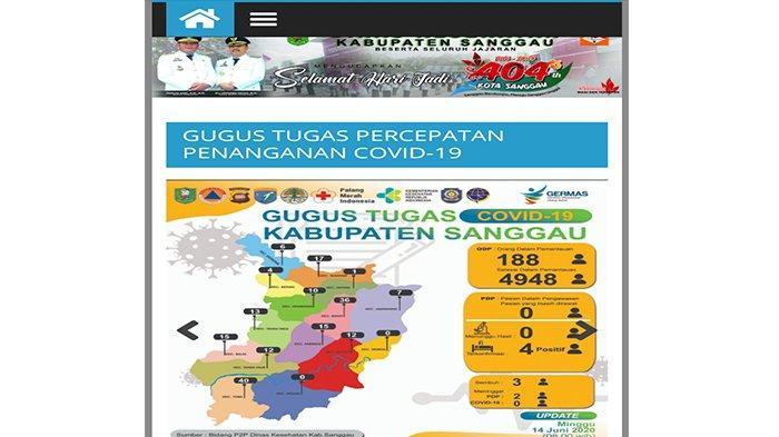 Update Kasus Covid-19 di Kabupaten Sanggau Hari Ini Minggu 14 Juni 2020