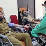 Gerakan Kemanusiaan, Dinas Kominfo Sanggau Gelar Aksi Donor Darah