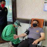 Peringati Hari Donor Darah Sedunia, PMI Sanggau Kembali Gelar Donor Darah di Polres Sanggau