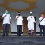 Tim Gugus Tugas Covid-19 Sanggau Cek Kesiapan Ibadah di Masjid Agung Al-Mu
