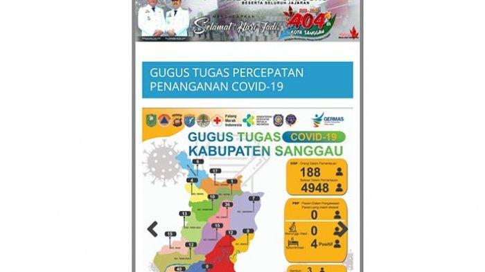 Update Jumlah ODP dan Orang Selesai Dalam Pemantauan di Kabupaten Sanggau Minggu (14/6/2020)