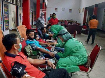 PMI Sanggau Kembali Gelar Donor Darah di BKPSDM dan Masjid Hidayatusshalihin