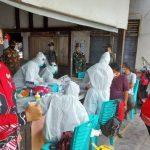 102 Orang Pedagang Pasar Sentral Sanggau Ikuti Rapid Test, 6 Orang Hasilnya Reaktif