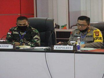 Kapolres Sanggau Hadiri Rapat Pemberlakuan New Normal di Kabupaten Sanggau