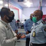 Imigrasi Kelas II TPI Sanggau Terima Kunjungan Tim Kantor Wilayah Kementerian Hukum dan HAM Kalbar