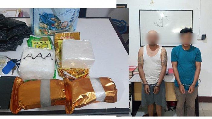 BREAKING NEWS - Polsek Entikong Ungkap Peredaran Narkoba Tujuan Pontianak, Sita Sabu 2,9 Kilogram