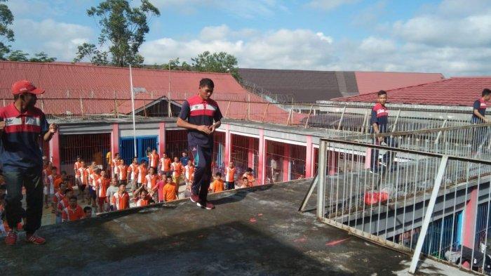 Cegah Covid-19, Warga Binaan Rutan Sanggau Rutin Olahraga