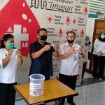 Hadiri Kegiatan Obrolan Donor Darah Sedunia di Markas PMI Sanggau, Ini Ungkapan Paolus Hadi