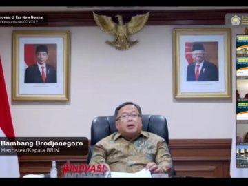 Menristek/Kepala BRIN Tekankan Pentingnya Pemanfaatan Teknologi bagi UMKM sebagai Upaya Pulihkan Ekonomi Indonesia - Berita Terkini